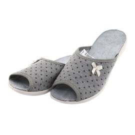 Befado obuwie damskie pu 254D047 szare 2