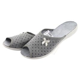 Befado obuwie damskie pu 254D047 szare 3