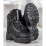 Yes Mile Czarne Sneakersy Na Platformie 4