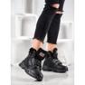 Yes Mile Sneakersy Z Futerkiem czarne 1