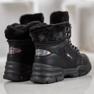 Yes Mile Sneakersy Z Futerkiem czarne 2