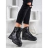 SHELOVET Ocieplane Sneakersy czarne 2