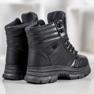 SHELOVET Ocieplane Sneakersy czarne 5