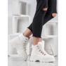 SHELOVET Ocieplane Sneakersy białe 1