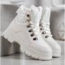 SHELOVET Ocieplane Sneakersy białe 4