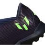 Buty adidas Nemeziz Messi 19.3 Tf M EF1809 fioletowe fioletowy, zielony 2