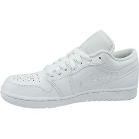 Nike Jordan Buty Jordan Air 1 Low M 553558-126 białe 1