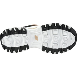 Buty Skechers D'Lites W 13087-BKRG czarne 3