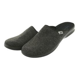 Befado obuwie męskie pu 548M022 szare 3