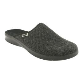 Befado obuwie męskie pu 548M022 szare 2