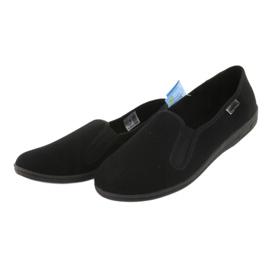 Befado obuwie męskie pvc 001M060 czarne 3