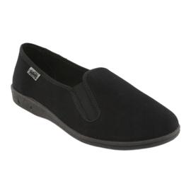 Befado obuwie męskie pvc 001M060 czarne 2