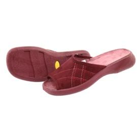 Befado obuwie damskie pu 442D146 wielokolorowe czerwone 5