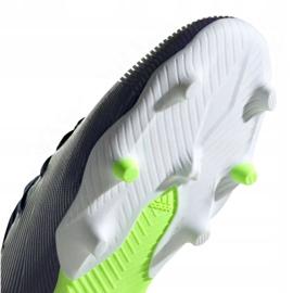 Buty piłkarskie adidas Nemeziz Messi 19.3 Fg Jr EF1814 fioletowe żółte 5