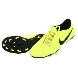 Buty piłkarskie Nike Phantom Venom Club Fg Jr AO0396-717 żółte 4