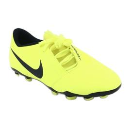 Buty piłkarskie Nike Phantom Venom Club Fg Jr AO0396-717 żółte 1