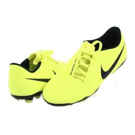 Buty piłkarskie Nike Phantom Venom Club Fg Jr AO0396-717 żółte 5