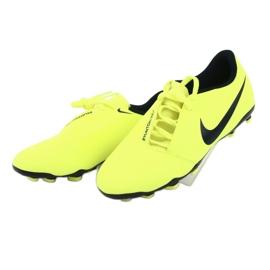 Buty piłkarskie Nike Phantom Venom Club Fg Jr AO0396-717 żółte 3