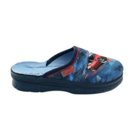 Befado obuwie dziecięce  708X001 granatowe 1