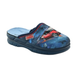 Befado obuwie dziecięce  708X001 granatowe 2