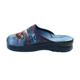 Befado obuwie dziecięce  708X001 granatowe 3