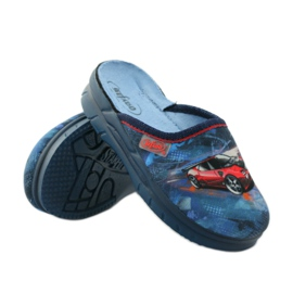 Befado obuwie dziecięce  708X001 granatowe 4