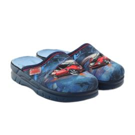 Befado obuwie dziecięce  708X001 granatowe 5