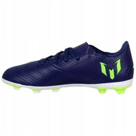 Buty adidas Nemeziz Messi 19.4 Fg Jr EF1816 fioletowe fioletowe 1