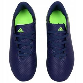 Buty adidas Nemeziz Messi 19.4 Fg Jr EF1816 fioletowe fioletowe 2