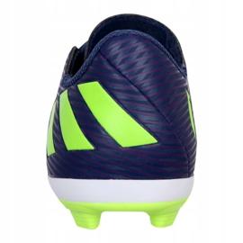 Buty adidas Nemeziz Messi 19.4 Fg Jr EF1816 fioletowe fioletowe 3