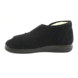Befado obuwie męskie  pu 986M011 czarne 3