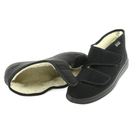 Befado obuwie męskie  pu 986M011 czarne 5