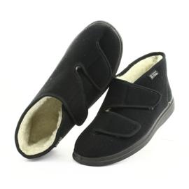 Befado obuwie męskie  pu 986M011 czarne 6