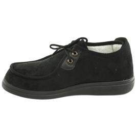 Befado obuwie damskie pu 387D005 czarne 3