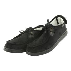 Befado obuwie damskie pu 387D005 czarne 4
