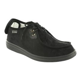 Befado obuwie damskie pu 387D005 czarne 2