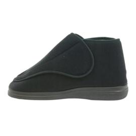 Orto Befado obuwie męskie pu 163M002 czarne 1