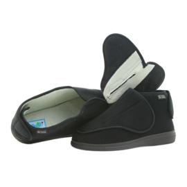 Orto Befado obuwie męskie pu 163M002 czarne 2