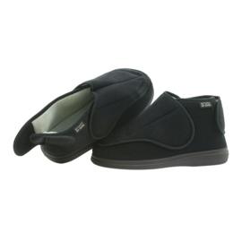Orto Befado obuwie męskie pu 163M002 czarne 3