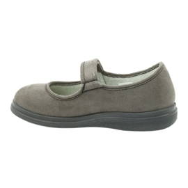 Befado obuwie damskie pu 462D001 szare 3
