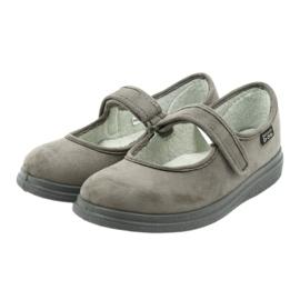 Befado obuwie damskie pu 462D001 szare 4