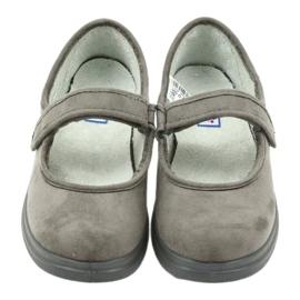 Befado obuwie damskie pu 462D001 szare 5