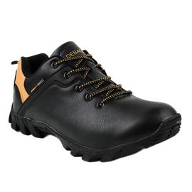 Czarne obuwie trekkingowe 2019A 1
