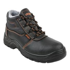 Czarne męskie obuwie ochronne XH009D 1