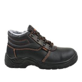 Czarne męskie obuwie ochronne XH009D 2