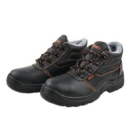 Czarne męskie obuwie ochronne XH009D 3