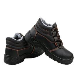 Czarne męskie obuwie ochronne XH009D 4