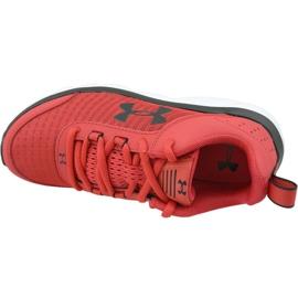 Buty Under Armour Assert 8 Jr 3022100-601 czerwone czerwone 2