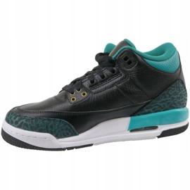 Nike Jordan Buty Jordan 3 Retro Gg 441140-018 czarne 1