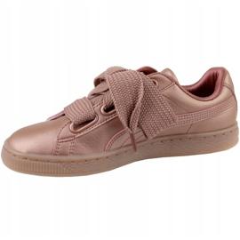Buty Puma Basket Heart Copper W 365463-01 różowe 1